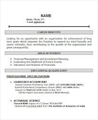 resume format doc for fresher accountant 28 free fresher resume templates free premium templates