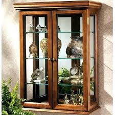 wall mounted curio cabinet wall china display cabinet weedern info