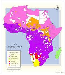 World Language Map by Language Sample Maps World Geodatasets