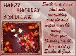 birthday card for son in law birthday card happy birthday cards