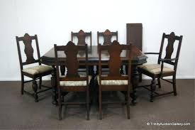 antique kitchen table chairs 1930s dining room furniture walnut complete antique dining room