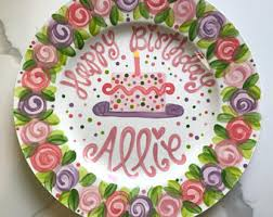 personalized cake plate custom cake plate etsy