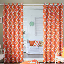 Sheer Curtains Orange Orange Curtains Orange Sheer Curtains Orange Patterned Curtains