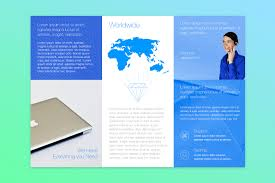 brochure 4 fold template free publisher templates for mac