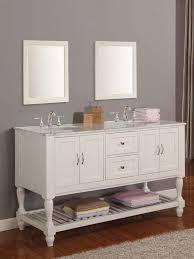 Marble Sink Vanity 60 Bridgeport Sink Vanity Pearl White Bathgems