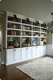 library bookcases done boom from thrifty decor