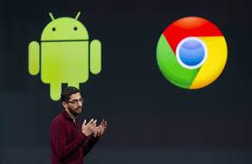 alphabet u0027s google fold chrome operating system into android wsj