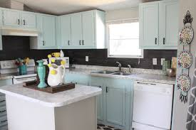 can mobile home kitchen cabinets be painted mobile home cabinet makeover re fabbed