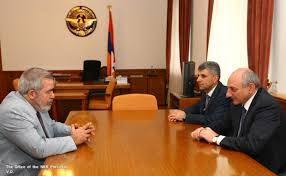 bureau president artsakh president receives arf bureau representative artsakhpress
