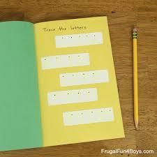 easy diy pencil practice book for improving fine motor skills