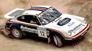rothmans porsche 911 porsche 911 sc rs rally car 954 01 04 1984