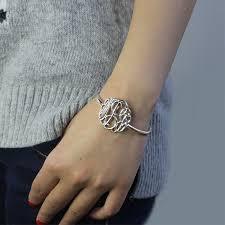 monogram initial bracelet monogram initial bracelet the best bracelet 2017