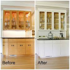 painting kitchen cabinet doors before and after how to paint kitchen cabinets like a pro the design
