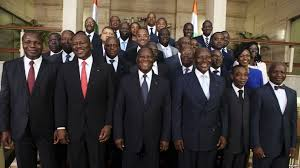 The Presidential Cabinet Ivory Coast Has New Cabinet Security Challenges Remain