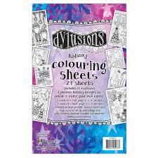 dyan reaveley u0027s dylusions coloring sheets 5