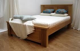 Solid Wood Bed Frames Uk Depiction Of Simple Wood Bed Frame Ideas Bedroom Design