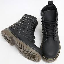womens black combat boots size 11 dr martens polyvore