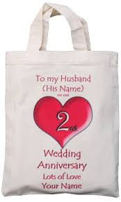 2nd wedding anniversary gifts cotton wedding anniversary gift ideas for husband imbusy for