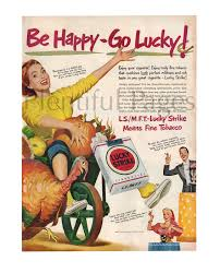 have a great thanksgiving day 1950 lucky strike cigarette vintage ad 1950 u0027s lady retro