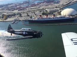 free patriotic air show and wwii event the queen mary queen