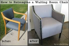 my so called diy blog reimagine a waiting room chair