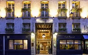 fcade of hotel d u0027aubusson paris 6th arrondissement france