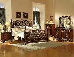 homelegance orleans bedroom set cherry b2168 bed set