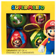 mario ornaments 4 pack for collectibles gamestop
