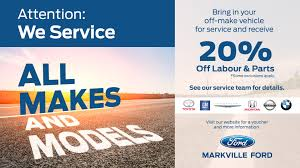 toyota financial services markham service specials markville lincoln