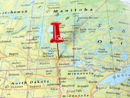 Winnipeg Map Winnipeg Usa Stock Photo 511516938 Istock