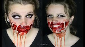 simple gory halloween makeup for teenagers beginner friendly