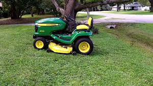 reverse problem john deere x500 youtube