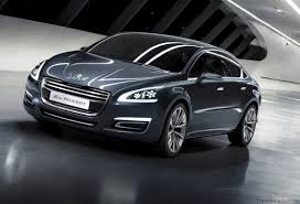 peugeot executive car 5 by peugeot hybrid concept revealed photos 1 of 24