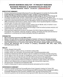 It Business Analyst Resume Samples With Objective by 30 It Resume Design Templates Free U0026 Premium Templates