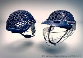 new design helmet for cricket cricket helmet by ravinder sembi design scene fashion