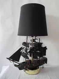 pirate ship light fixture pirate ship l shade nautical sailing travel sea skull