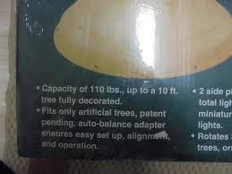 nib ultima worlds finest revolving tree stand 302199126938