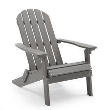 belham living all weather resin wood adirondack chair gray