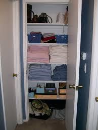 hall closet organization simplicity with sarah