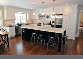 modern l shaped kitchen with island l shaped kitchen island gorgeous kitchen concept with black chairs