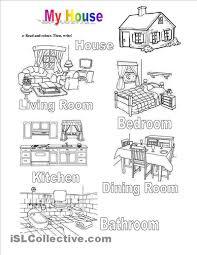 house worksheets buscar con google house pinterest english