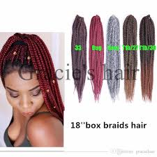 medium box braids with human hair 2018 freetress synthetic hair crochet braids medium box braids