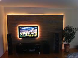 Beleuchtung Wohnzimmer Fernseher Ideen Tv Wandhalterung Ebenfalls Impresionante Tv Wand Selber