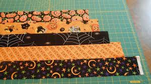 because i say sew halloween table topper