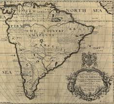 North America Map 1700 by South America Old Maps Zoom Maps