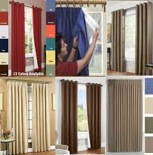 Style Selections Thermal Blackout Curtains Window Treatments Window Curtains Hardware Altmeyer U0027s