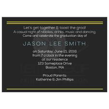 Invitation Card For Graduation Day Tech Graduation Invitation