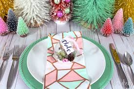 diy terrarium ornament place card inside the fox den