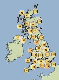 uk weather britain enjoys 19 5c temperatures today the