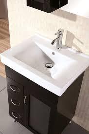 design element oslo single porcelain integrated drop in countertop